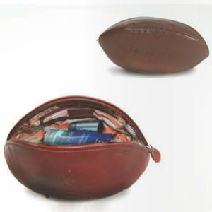 Leather Rugby Wash Bag - wash & toiletry bags