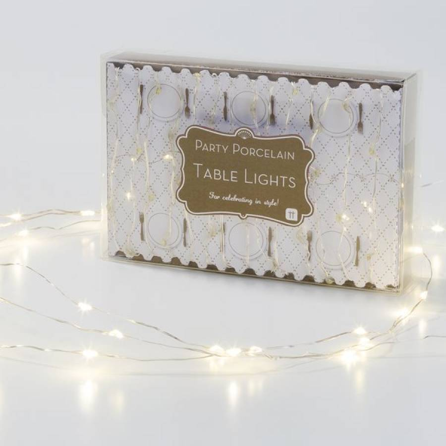 Christmas Fairy Lights Table Decorations By Little Cupcake