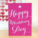Same Sex 'Happy Wedding Day' Card
