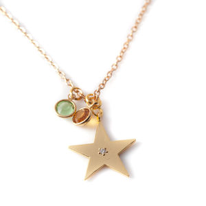 Star Charm Necklace - necklaces & pendants