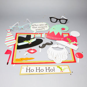 Christmas Photobooth Props - christmas parties & entertaining
