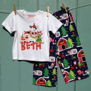 Personalised Christmas Pyjama
