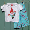 Personalised Santas Elves Pyjamas