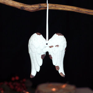 Angel Wings Vintage Christmas Decoration