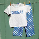 Personalised Big Spot Pyjama
