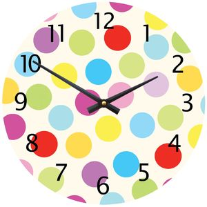 Spotty Clock - children's clocks