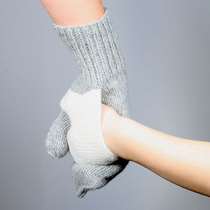 Pair Of Hand In Hand Gloves - gloves