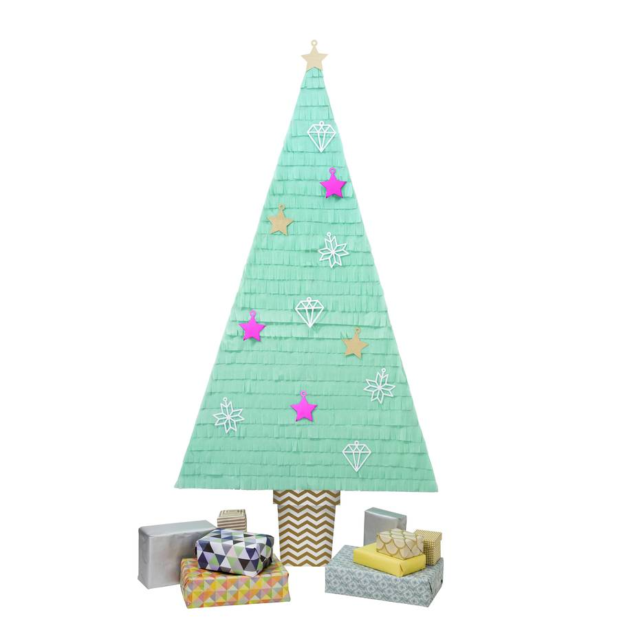 Make your own christmas tree kit by bunting barrow Make your own christmas bunting