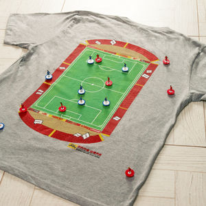 Dad's Football Pitch T Shirt - men's fashion