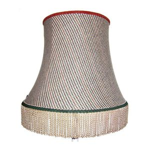 Flatcap Empire Fabric Lampshade - lamp bases & shades