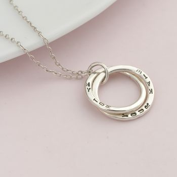 Personalised Interlinking Necklace