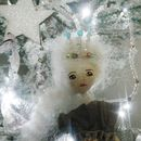 Personalised Christmas Fairy Vintage Inspired