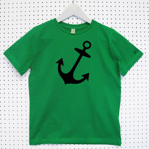 Anchor Child's Organic Cotton T Shirt - t-shirts & tops