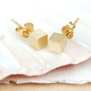 Cubic Stud Earrings