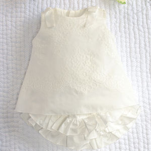Orchidea Taffeta And Lace Outfit - baby & child