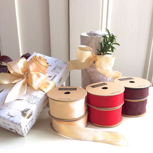 Luxury Wired Ribbon 10 Metres - cards & wrap