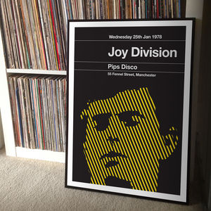 Joy Division Remixed Gig Poster