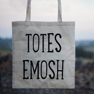 'Totes Emosh' Canvas Shopper Tote Bag