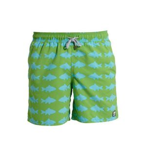Men's Fish Swimming Trunks - men's