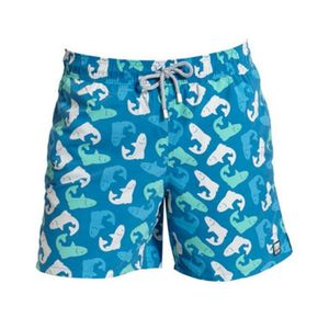 Men's Salmon Swimming Trunks - men's fashion
