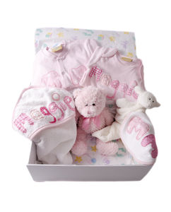 Baby Girl Mixed/Personalised Gift Hamper - baby & child