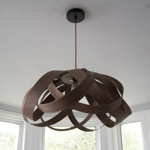 Wooden Daisy Pendant Lampshade - pendant lights