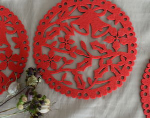 Christmas Felt Placemat - view all decorations