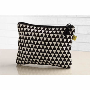Alibag Triangle Purse And Make Up Bag
