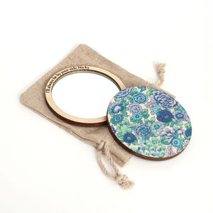 Liberty Compact Pocket Mirror - home accessories