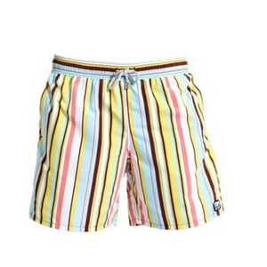 Men's Beach Stripe Swimming Trunks