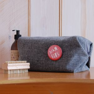 Men's Washbag - bathroom