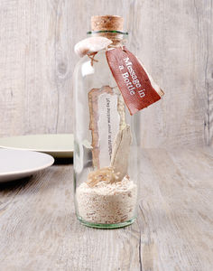 Message In A Bottle 'Beach' - birthday cards