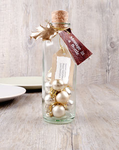 Message In A Bottle 'Christmas'