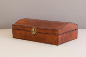 Personalised Leather Jewellery Box