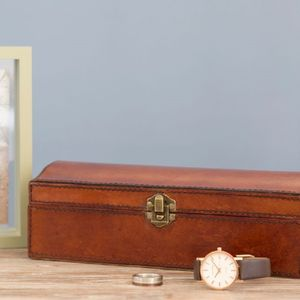 Personalised Leather Jewel Box - gifts for her