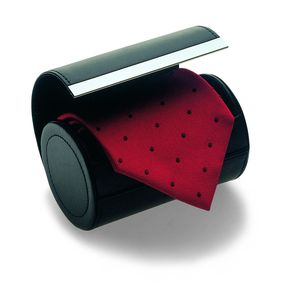 Prestige Leather Tie Holder - men's accessories