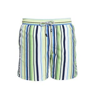 Boy's Ocean Stripe Swimming Trunks