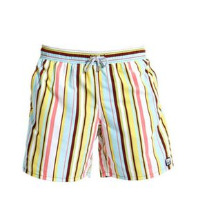 Boy's Beach Stripe Swimming Trunks - clothing