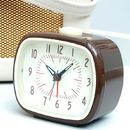 Chocolate Brown Clock