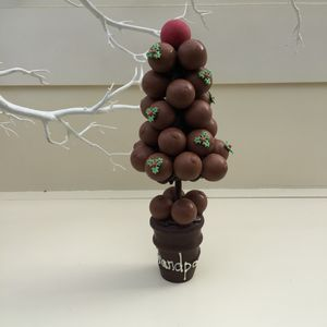 Personalised Lindt Lindor Christmas Sweet Tree
