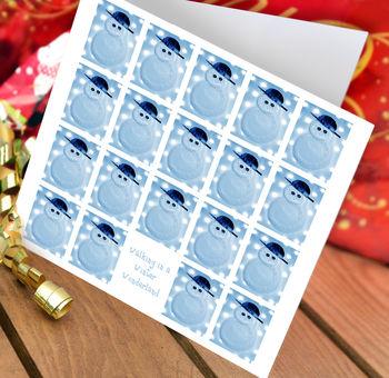 Snowman Christmas Card Packs