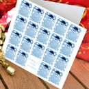 Snowman Christmas Card Pack Of 10