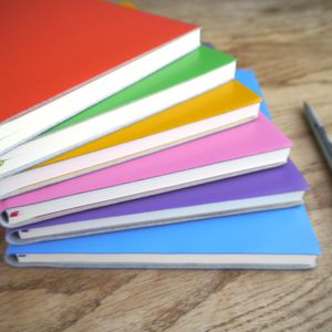 Personalised Colourful Leather Journal - travel & luggage