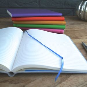 Personalised Colourful Leather Journal