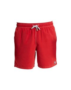 Boy's Solid Swimming Trunks