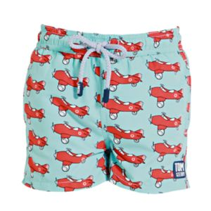 Boy's Airplane Swimming Trunks - clothing