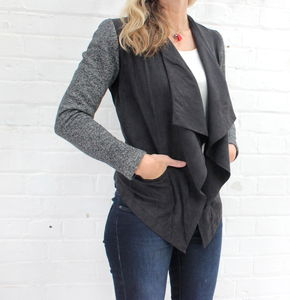 Danish Slouch Jacket - jumpers & cardigans