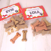 Personalised Christmas Dog Treats - pets