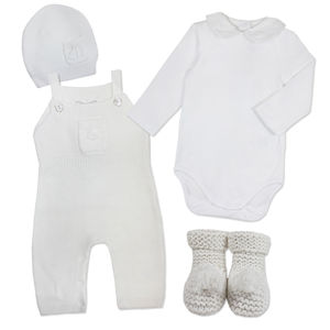 Baby Boy Winter Cashmere Knit Outfit - baby & child