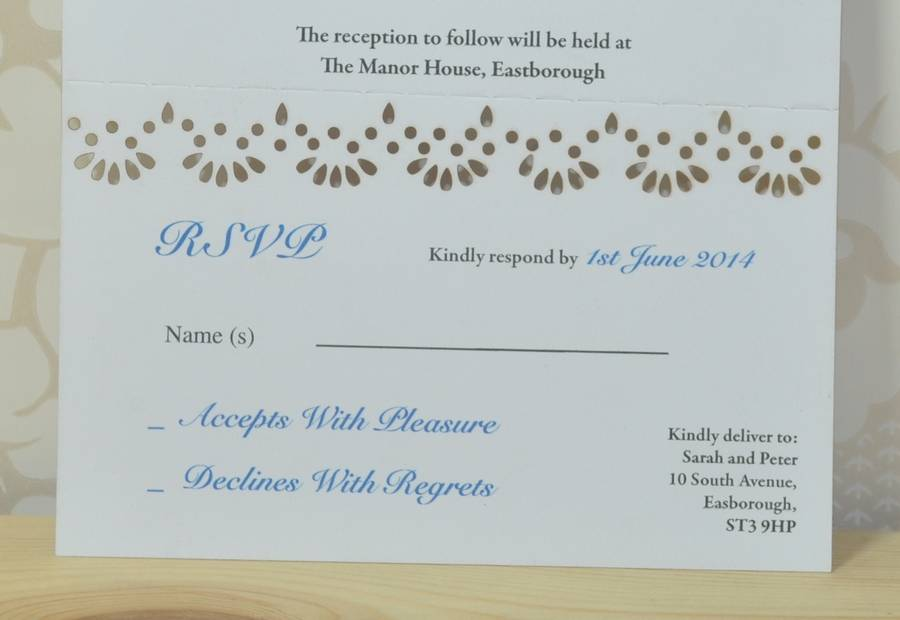 Wedding Invitations Rsvp for your inspiration to make invitation template look beautiful
